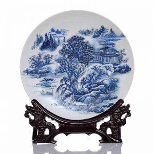 C58 10inch wholesale decor ceramic plates