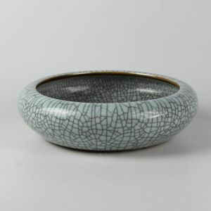 Ceramic Crackle Glazed Fishbowl