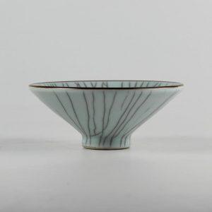 C71-1 6inch Crackle Ceramic Bowl