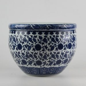 C73-1 d10inch Ceramic Blue and White Bowls