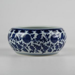 C73-3 d6.3inch Ceramic Blue and White Fishbowls