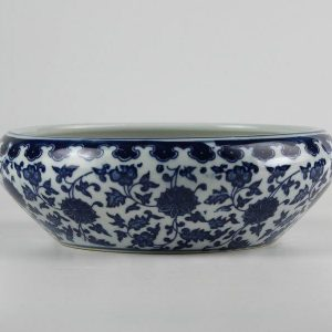 Blue and White Ceramic Fish bowls