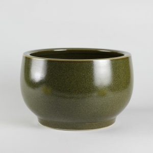 C76-1 Tea dust glazed Fish bowls