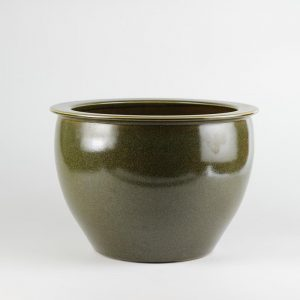 C76-3 14inch Tea Dust Glazed Ceramic Bowls