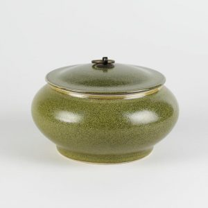 """C76-17 7"""" Tea Dust Glazed Ceramic Tea Jars"""