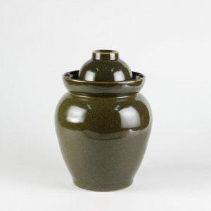 C76-29 Set of 3 Ceramic Pickle Jar