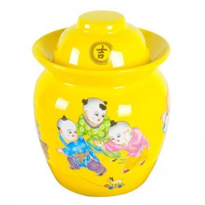 C89-02/03 Children design Ceramic Pickle Jars