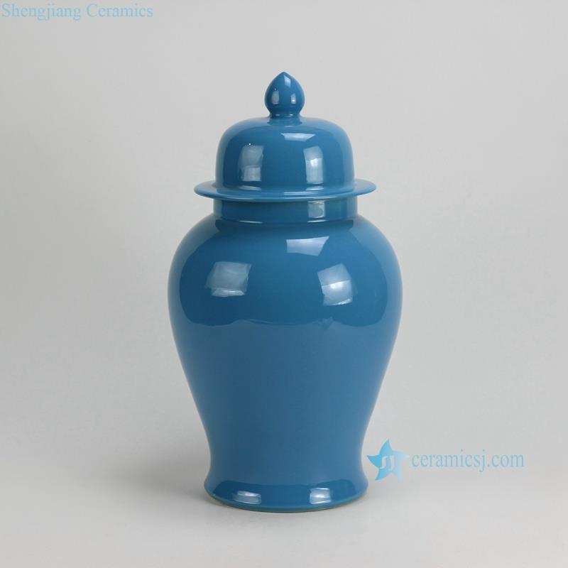 Rykb117 A F Solid Color Ceramic Ginger Jars Jingdezhen