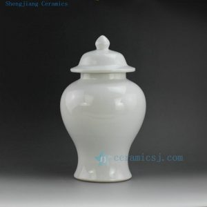 WRYNQ28 14inch beautiful white ginger jars