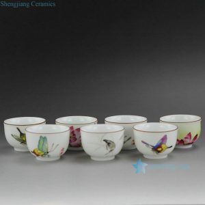 RYOK76 High quality Hand Painted New Color Tea Cups