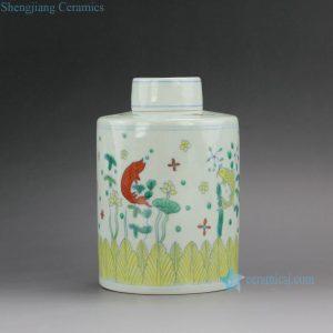 RYYM Jingdezhen Handmade Doucai Tea ware