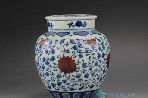 RYZ Jingdezhen Handmade Blue and White Tea ware