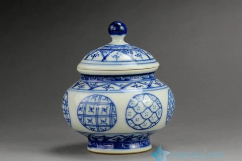 RZBP03-B Blue White Ceramic Tea Pot