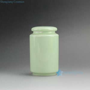RZDT02 Plain Lidded Ceramic Tea Jars