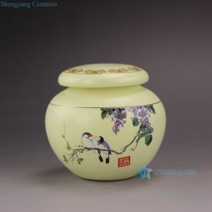 RZFL04 Small Ceramic Tea Jar