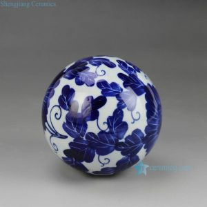 RYPU23 Blue and White Cearmic Ball