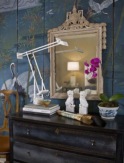 Eclectic Bedroom by Huntley & Co. Interior Design