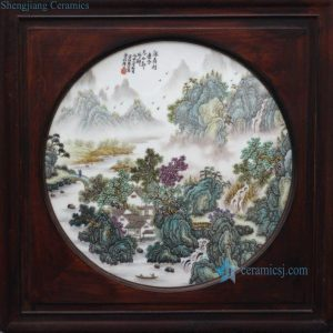CB005 Chinese High Quality Porcelain Wall Decor.
