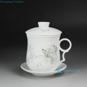 CBAD05-C Cearmic Bird design Tea Cup