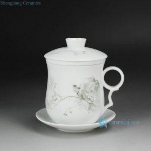 CBAD05-C Cearmic Bird design Tea Cup