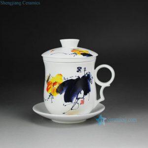 CBAD05-H Cearmic Mug with Saucer