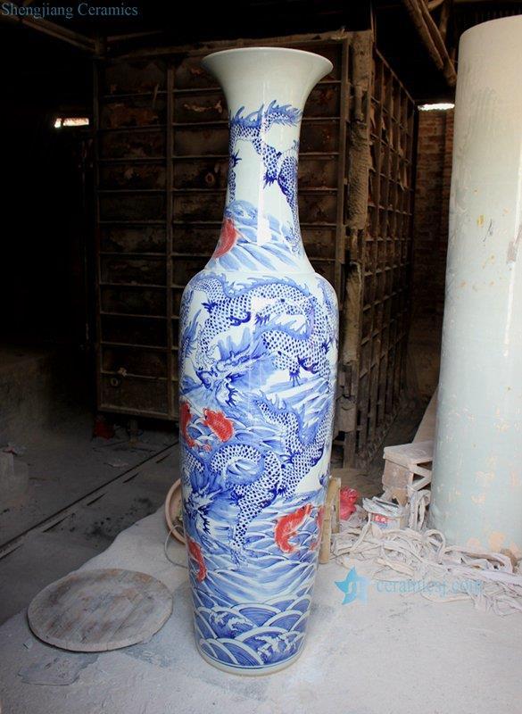 Floor Vase Jingdezhen Shengjiang Ceramic Co Ltd