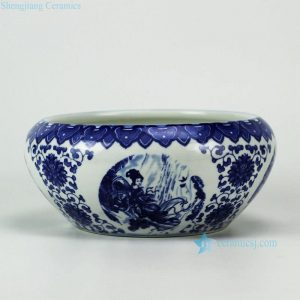 RYIQ25 Blue and White Ceramic Bowl