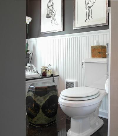 Traditional Bathroom by Donna DuFresne Interior Design