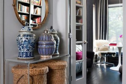 9 Fresh Ways to Use Classic Blue and White Ceramics