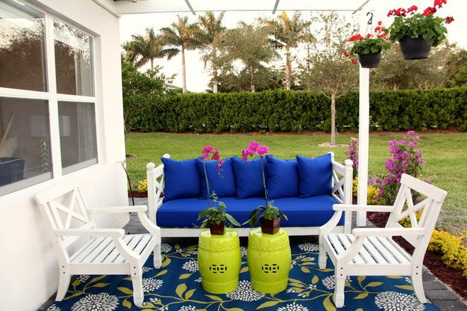 Beach Style Patio by Interiors by Maite Granda