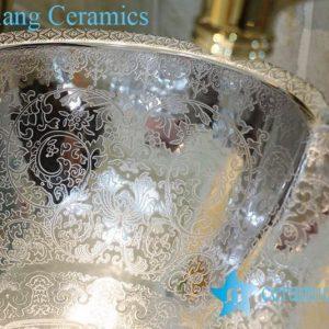 LT-1A8057 Jingdezhen art ceramic wash basin / unique bathroom sink