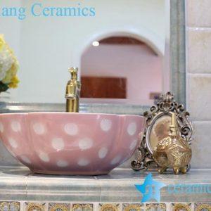 LT-1A8130 Jingdezhen art ceramic wash basin / unique bathroom sink