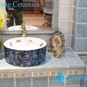 LT-1A8288 Jingdezhen art ceramic wash basin / unique bathroom sink