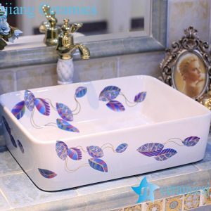 LT-X1A4506 Jingdezhen art ceramic wash basin / unique bathroom sink