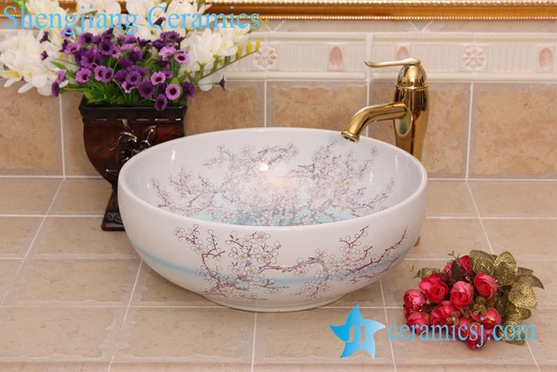 Yl C 7552 Factory Outlet Plum Blossom Flower Colorful