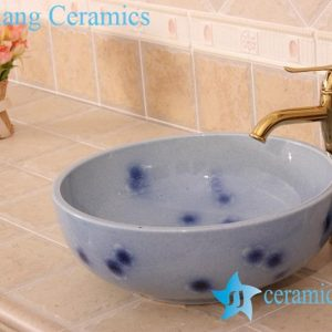 YL-H_6837 For floor and wall hot sale decorative corner bathroom chinaware sink