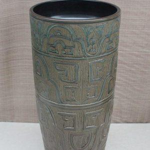 YL-TZ-0024 High heel antique ceramic pedestal sink bowl