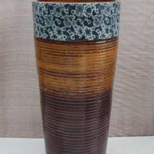 YL-TZ-0034 Free standing ceramic pedestal column lavabo sink