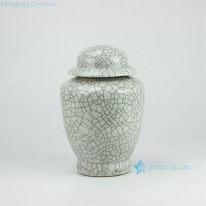 DS31-ZR Crackled matte finish ceramic fancy table lamp