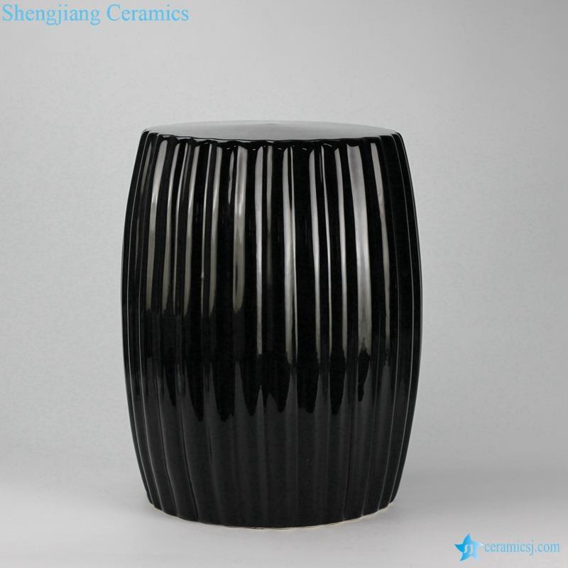 Peachy Ryir114 Solid Color Multi Prismatic Ceramic Vanity Stool Ncnpc Chair Design For Home Ncnpcorg