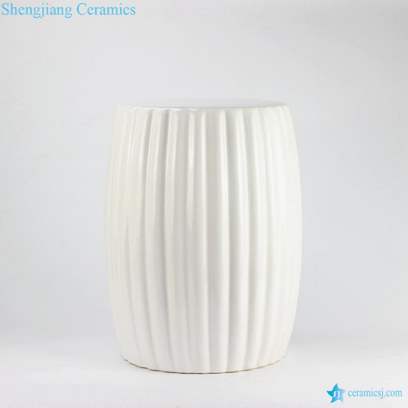 Enjoyable Ryir114 Solid Color Multi Prismatic Ceramic Vanity Stool Cjindustries Chair Design For Home Cjindustriesco