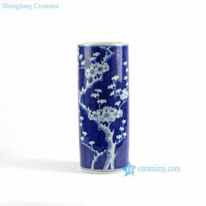 RYLU70-A/B Blue and white hand painted ceramic home decoration vases