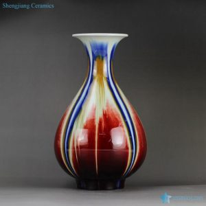 RYVZ 14 transmutation glazed open mouth modern flower vase