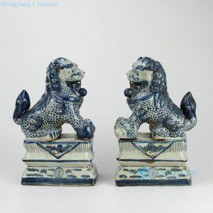 RZGA01 RZGA01-B/C/D Large ceramic lion statue