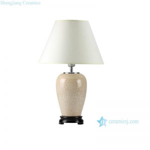 DS38-A-RYXV DS38-C-RYXV photochromic crystaline glaze fancy ceramic table lamps for living room