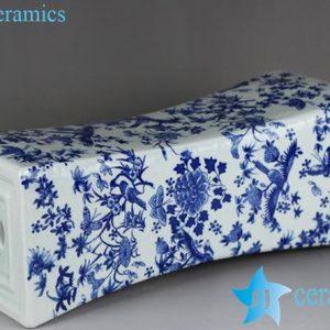 RYTM61-a Ceramic floral pattern slim vase