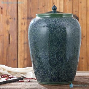 RZAP03-A Moistureproof ceramic rice storage barrel with lid