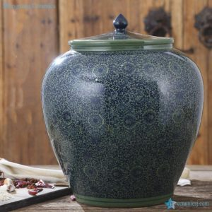 RZAP04-A Large size ceramic pickle jar
