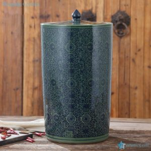 RZAP05-A Ceramic large tin jar storage barrel