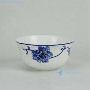 RZGF04 blue and white for microwave oven ceramic dinnerware sets